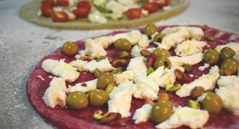 Sourdough Vegetable Pizzas